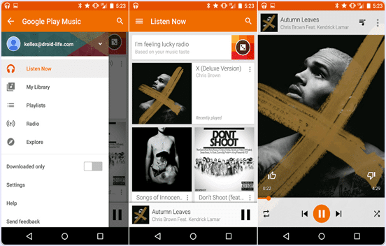 best music player appsfor android
