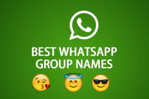 500+ Best Whatsapp Group Names Collection For You
