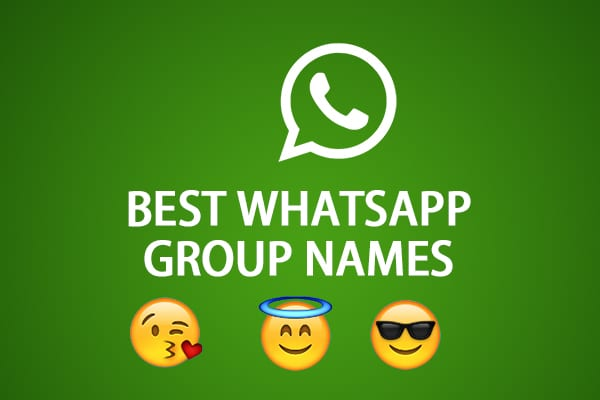 1000+ WhatsApp Group Names For Friends & Family [*Funny*] - 2020