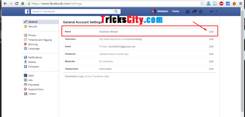 how-to-make-single-name-account-on-facebook-using-hola-vpn