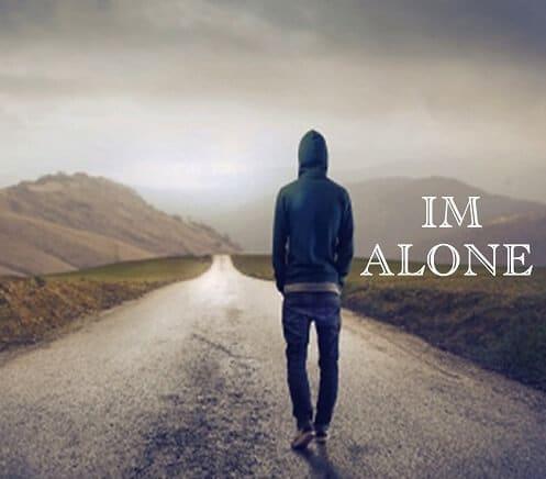 Alone boy picture