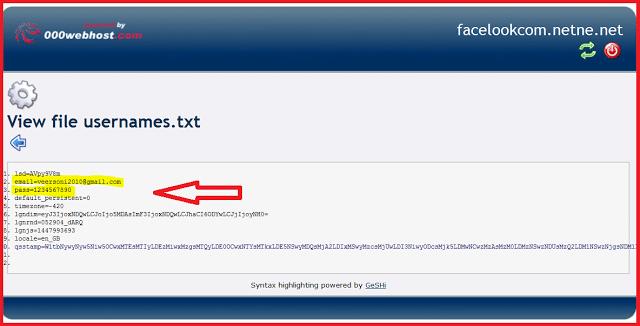 how-to-make-facebook-phishing-website