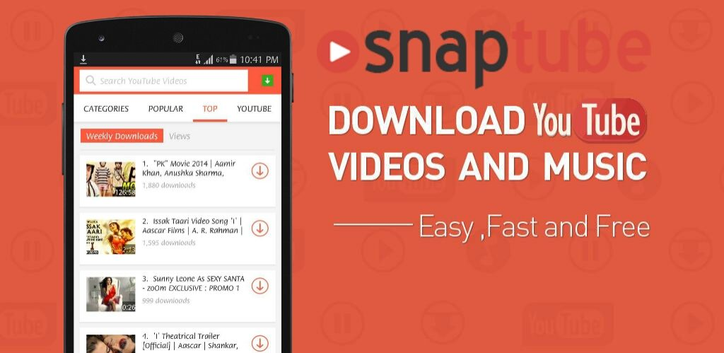 Download Snaptube Apk Latest Version For Free - 2020
