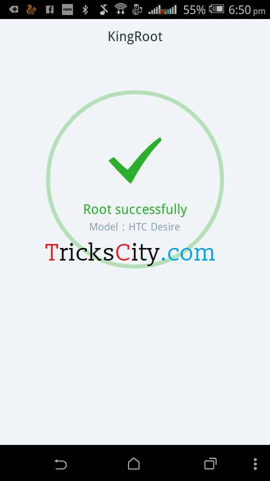 root android phone using kingroot