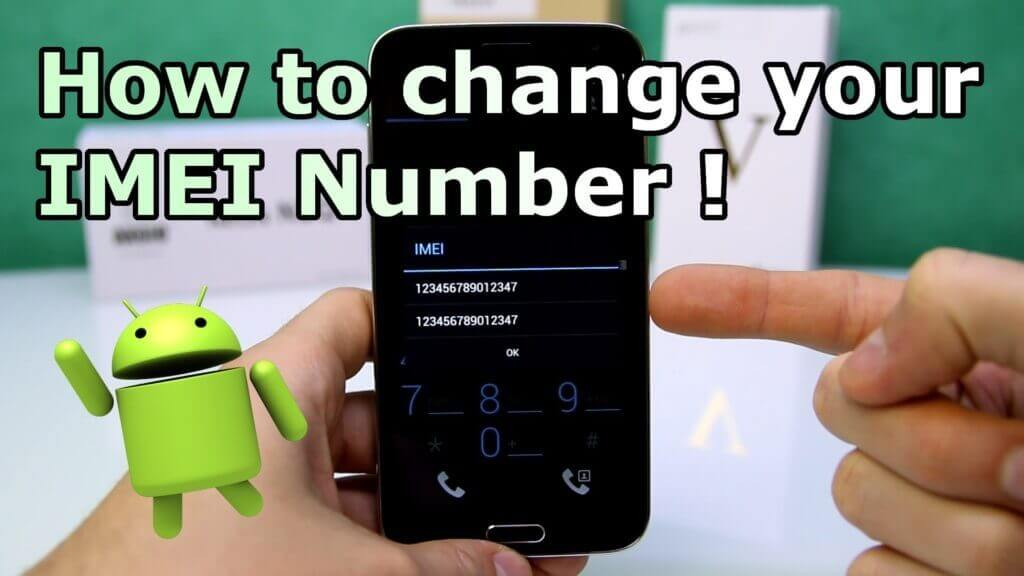 change imei number in any android