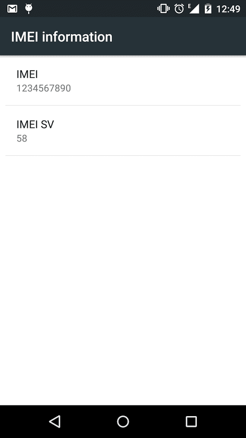 change imei number in android