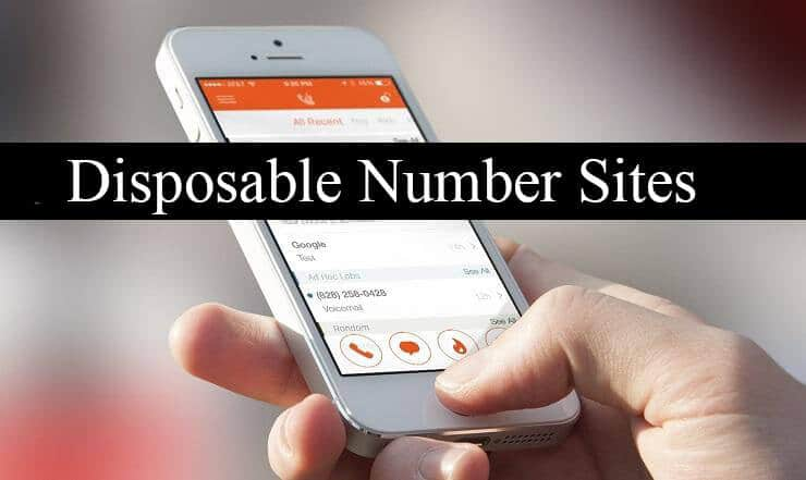 Disposable Phone Number Providing Top 10 Sites List