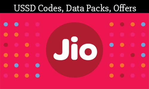 Reliance Jio USSD Codes To Check Balance Data & Plans