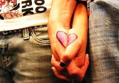 Couple Holding Hand Cute DP For Whatsapp