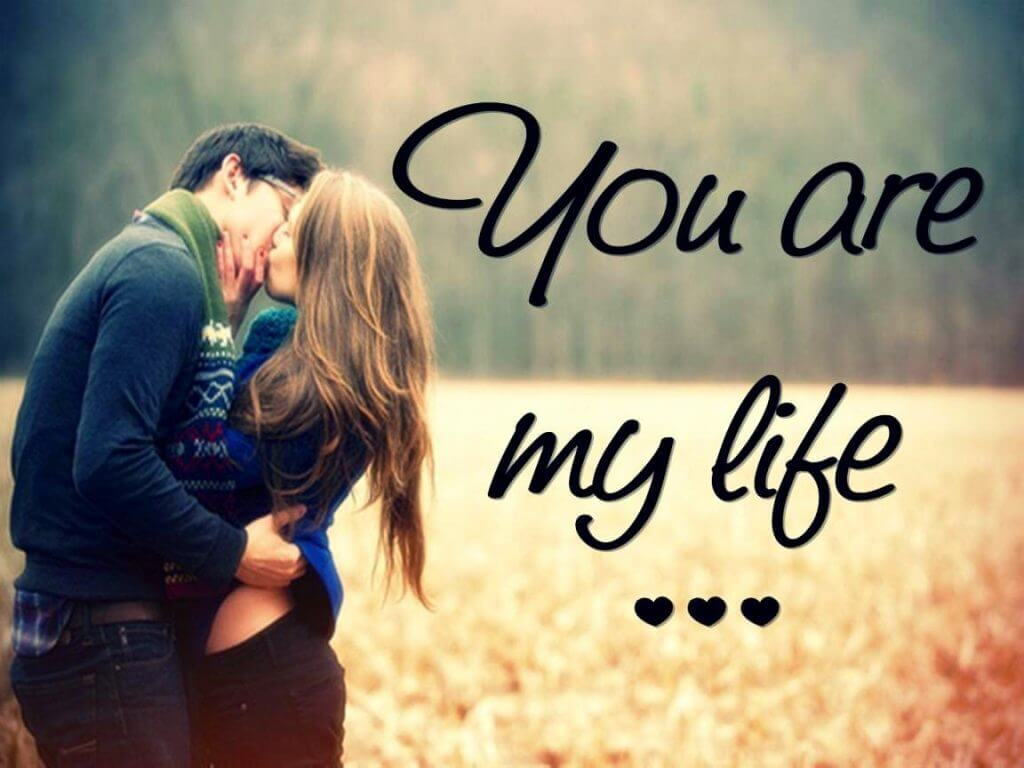Love dp romantic couple whatsapp dp profile pics for facebook you are my life love dp for whatsapp voltagebd Images