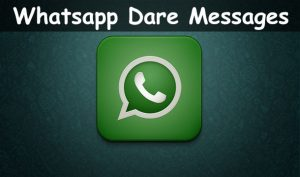Whatsapp Dare Games: Messages With Answers For Lovers