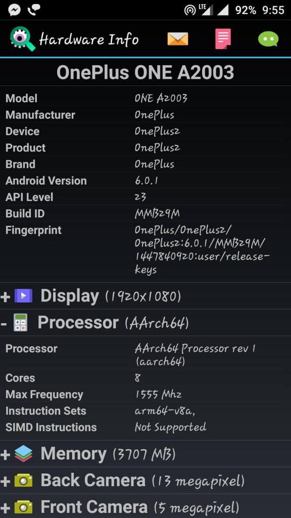 oneplus-2-processor-info