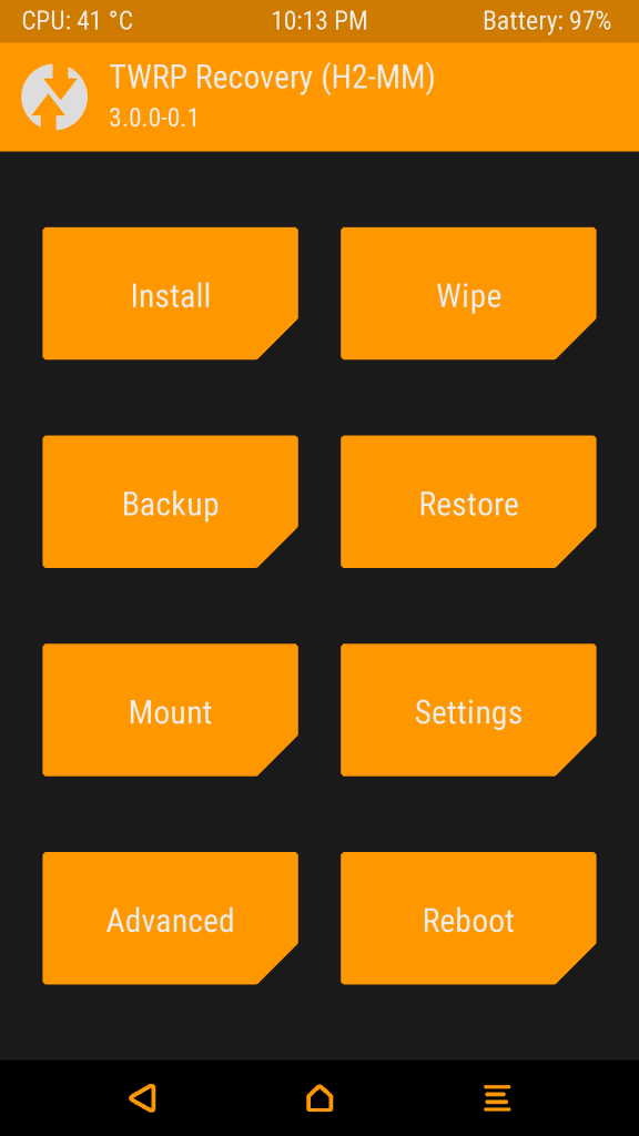twrp-recovery-mode