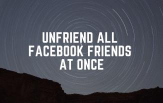 unfriend-all-facebook-friends-at-once
