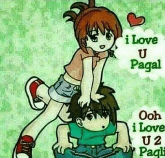 i-love-you-pagli-dp