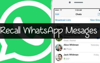 recall-whatsapp-messages