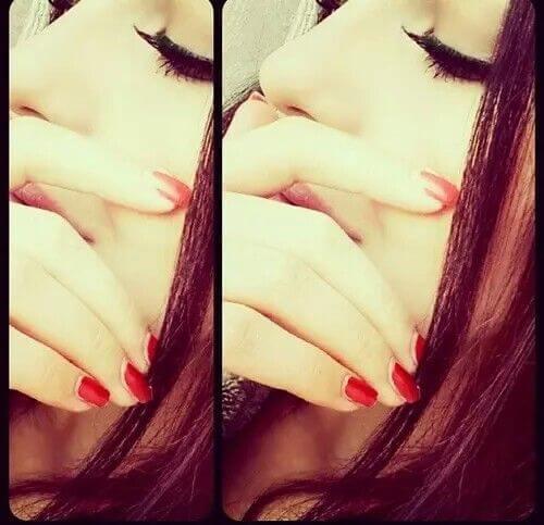 stylish-girl-pic-hiding-face