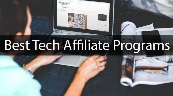 best-tech-affiliate-programs