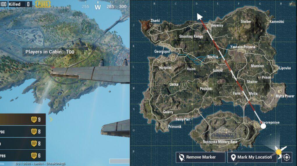 pubg-mobile-map